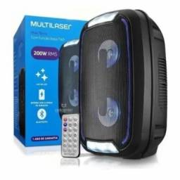 Caixa de Som Bluetooth Mini Torre TWS 200W - Multilaser SP336