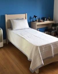 Cama de solteiro 88cm + colchão de mola ensacada GRÁTIS