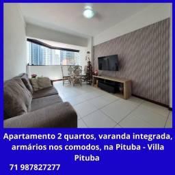 Ótimo apartamento 2/4, suíte, varanda, na Pituba - Villa Pituba