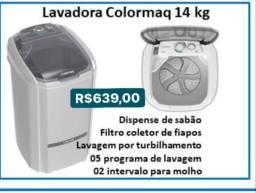 Lavadora colormaq 14 kg