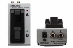 Pedal Boss Fs7 Dual Footswitch - Novo!