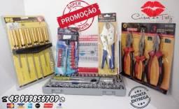 Kit 3 Ferramentas 40+1+21+3+6 Peças Novo