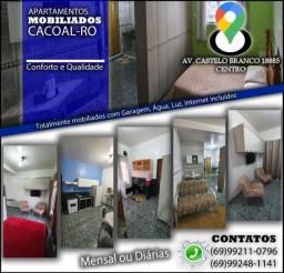 Apartamentos mobiliados Cacoal/RO