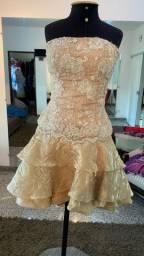 Vendo vestido de festa - CURTO