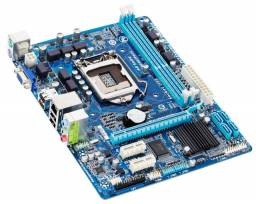 Título do anúncio: Placa mãe Gigabyte H61 LGA 1155 DDR3 i3/i5/i7 - 2/3º Geração