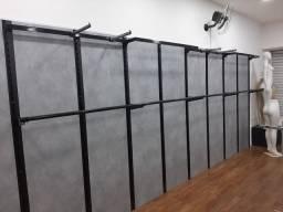 Estrutura completa flexível para loja