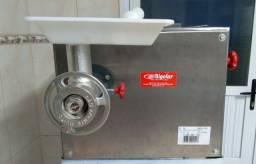 Máquina de fazer massa - cilindro extrusor é misturador conjugados
