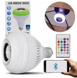 Lâmpada Musical De Led Colorida 3.0 Musical Bluetooth + Controle