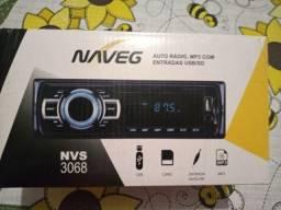 Auto rádio NVS 3068, MP3/USB