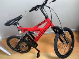 Bicicleta Colli Aro 20 - Usada apenas dois dias