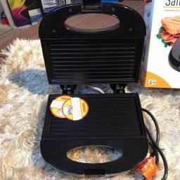 Sanduicheira Torradeira Grill Black Agratto 110v Ou 220V