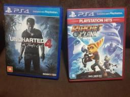 Vendo ou troco esses jogos de ps4