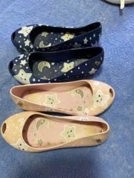 Sapatos infantis menina