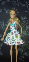 Roupa de barbie kit