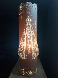 Luminária de PVC ( N.S Aparecida )