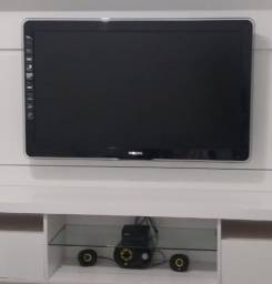 """TV 40"""" + Caixa de Som"""