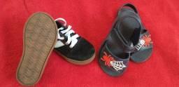 Combo - tênis e sandália