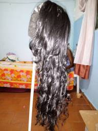 Front lace fibra futura (idêntica ao cabelo humano)