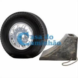 Título do anúncio: Calço Borracha P/ Segurança Roda - Caminhão / Onibus / Carro