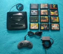 Sega Mega Drive 3 Tectoy em ótimo estado !!!