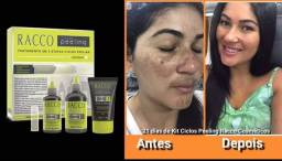 Tratamento Limpeza de pele, reduz manchas e rugas racco