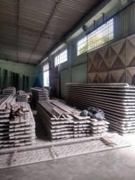 Lage concreto bombeado malha de ferro