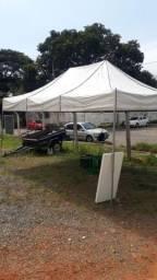 Vendo 3 tendas sanfonadas pvc 2 4,5x3m e 1 6x3m