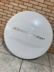 Capa Rígida para estepe Ecosport branca