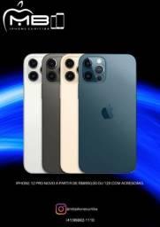 iPhone 12 Pro 128GB Blue Lacrado