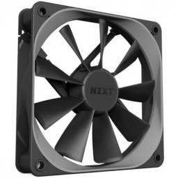 Título do anúncio: fan para gabinete aer f 120 - 120mm - cinza - p/ fluxo de ar