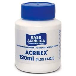 Título do anúncio: Base Acrílica Para Artesanato 120ml Atóxica - Acrilex - Original Lacrado