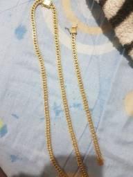 Kit cordão e pulseira