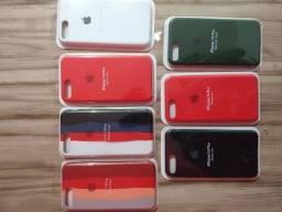 Case capinha de silicone iPhone 7/8 Plus