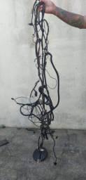 Chicote elétrico central renault logan