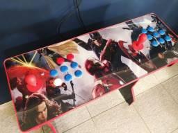 Fliperama Arcade c/ bancada