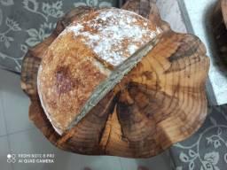 Tábua rústica para queijos, pães e petiscos!
