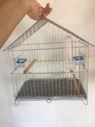 Gaiola de ferro para passarinhos