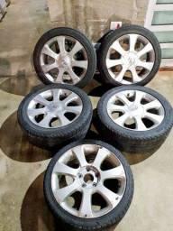 Rodas 17 Hyundai original elantra 5 rodas