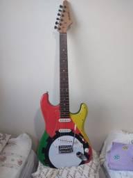 Guitarra com bag