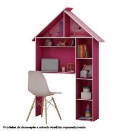 Escrivaninha Infantil Casinha Pink Ploc - Usada bem conservada