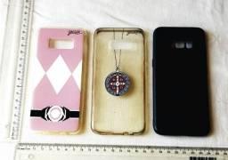 Kit de 3 Capinhas Traseiras para Celular Samsung - Galaxy S8 - Marca Gocase - Pouco Uso