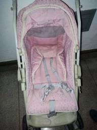 Carrinho de Bebê Burigotto Rosa , carro de Bebê