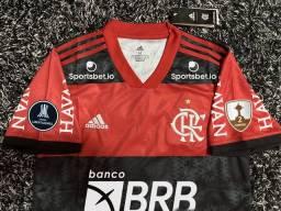Título do anúncio: Camisa Flamengo 2021 - Leia a descrição