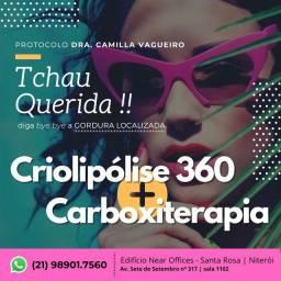 Criolipólise 360 + Carboxterapia
