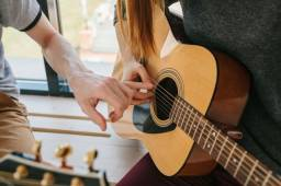 Aula de violão - Gospel