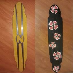 Shape de skate longboard