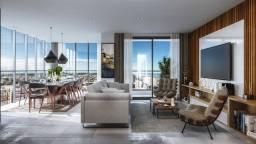 Apartamento para venda tem 118 metros quadrados, com 3 suites, 2 vagas em Praia Grande - T