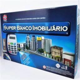 Super Banco Imobiliário  C/ Maquineta de Cartões