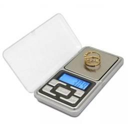 Mini Balança Eletrônica Portátil Pesar Ouro 500g
