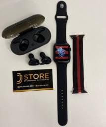 Kit Dia Dos Pais Smartwatch + Fone + Pulseira extra
